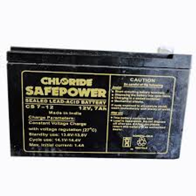 Exide 12V 7 Ah Powersafe Battery(Sealed),Original Replacement To Ups Battery-1