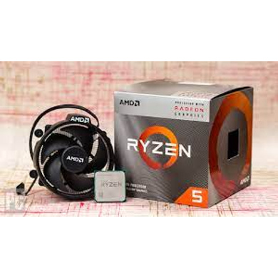 AMD Ryzen 5 3400G YD3400C5FHBOX with Radeon RX Vega 11 Graphics Desktop Processor 4 Cores up to 4.2GHz 6MB Cache AM4 Socket-3