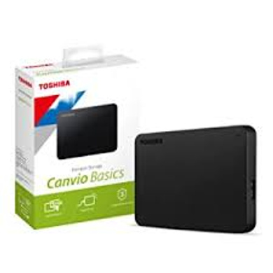 Toshiba Canvio Basics 2TB Portable External Hard Drive-2TB