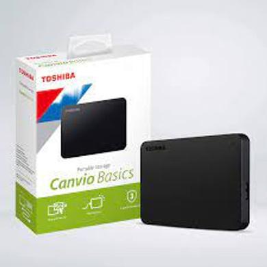 Toshiba Canvio Basics 4TB Portable External HDD PC Laptop Windows and Mac-4TB