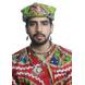 S H A H I T A J Cotton Kathiyawadi Navratri or Gujarati Safa Pagdi Turban Multi-Colored for Kids and Adults (RT01)-18-3-sm