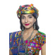 S H A H I T A J Satin Kathiyawadi Navratri or Gujarati Safa Pagdi Turban Multi-Colored for Kids and Adults (RT420)-ST43_19andHalf-sm