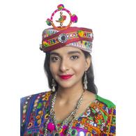 S H A H I T A J Cotton Kathiyawadi Navratri or Gujarati Safa Pagdi Turban Multi-Colored for Kids and Adults (RT421)