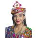 S H A H I T A J Cotton Kathiyawadi Navratri or Gujarati Safa Pagdi Turban Multi-Colored for Kids and Adults (RT421)-ST44_18andHalf-sm