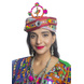 S H A H I T A J Cotton Kathiyawadi Navratri or Gujarati Safa Pagdi Turban Multi-Colored for Kids and Adults (RT421)-ST44_23-sm