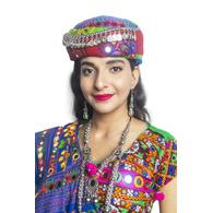 S H A H I T A J Cotton Kathiyawadi Navratri or Gujarati Safa Pagdi Turban Multi-Colored for Kids and Adults (RT422)