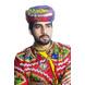 S H A H I T A J Cotton Kathiyawadi Navratri or Gujarati Safa Pagdi Turban Multi-Colored for Kids and Adults (RT422)-18-3-sm