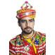 S H A H I T A J Cotton Kathiyawadi Navratri or Gujarati Safa Pagdi Turban Multi-Colored for Kids and Adults (RT423)-ST46_18andHalf-sm