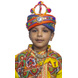 S H A H I T A J Cotton Kathiyawadi Navratri or Gujarati Safa Pagdi Turban Multi-Colored for Kids and Adults (RT424)-ST47_19andHalf-sm