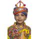 S H A H I T A J Cotton Kathiyawadi Navratri or Gujarati Safa Pagdi Turban Multi-Colored for Kids and Adults (RT424)-ST47_22andHalf-sm