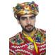 S H A H I T A J Satin Kathiyawadi Navratri or Gujarati Safa Pagdi Turban Multi-Colored for Kids and Adults (RT425)-ST48_21andHalf-sm