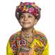 S H A H I T A J Satin Kathiyawadi Navratri or Gujarati Safa Pagdi Turban Multi-Colored for Kids and Adults (RT426)-ST49_18andHalf-sm