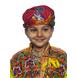 S H A H I T A J Cotton Kathiyawadi Navratri or Gujarati Safa Pagdi Turban Multi-Colored for Kids and Adults (RT428)-ST51_22andHalf-sm