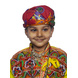 S H A H I T A J Cotton Kathiyawadi Navratri or Gujarati Safa Pagdi Turban Multi-Colored for Kids and Adults (RT428)-ST51_23andHalf-sm