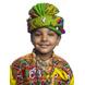 S H A H I T A J Cotton Kathiyawadi Navratri or Gujarati Safa Pagdi Turban Multi-Colored for Kids and Adults (RT431)-ST54_22andHalf-sm
