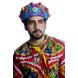 S H A H I T A J Cotton Kathiyawadi Navratri or Gujarati Safa Pagdi Turban Multi-Colored for Kids and Adults (RT432)-ST55_18andHalf-sm