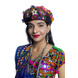 S H A H I T A J Cotton Kathiyawadi Navratri or Gujarati Safa Pagdi Turban Multi-Colored for Kids and Adults (RT433)-ST56_20andHalf-sm