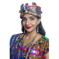 S H A H I T A J Cotton Kathiyawadi Navratri or Gujarati Safa Pagdi Turban Multi-Colored for Kids and Adults (RT434)