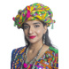 S H A H I T A J Cotton Kathiyawadi Navratri or Gujarati Safa Pagdi Turban Multi-Colored for Kids and Adults (RT438)-ST61_18-sm