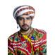 S H A H I T A J Cotton Kathiyawadi Navratri or Gujarati Safa Pagdi Turban Multi-Colored for Kids and Adults (RT24)-ST65_18andHalf-sm
