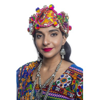 S H A H I T A J Cotton Kathiyawadi Navratri or Gujarati Safa Pagdi Turban Multi-Colored for Kids and Adults (RT27)