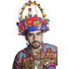 S H A H I T A J Cotton Kathiyawadi Navratri or Gujarati Safa Pagdi Turban Multi-Colored for Kids and Adults (RT34)-ST75_18-sm
