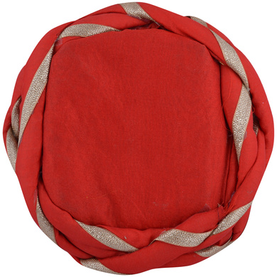 S H A H I T A J Traditional Rajasthani Faux Silk Adjustable Vantma or Barmeri Pagdi Safa or Turban for Kids and Adults (RT04)-18-3