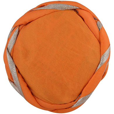 S H A H I T A J Traditional Rajasthani Faux Silk Adjustable Vantma or Barmeri Pagdi Safa or Turban for Kids and Adults (RT06)-18-3