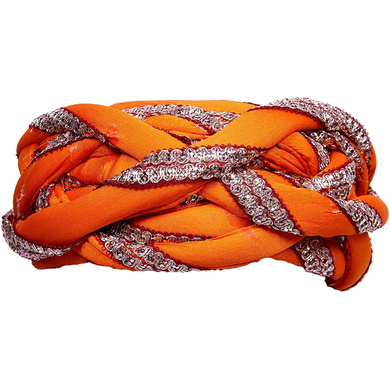 S H A H I T A J Traditional Rajasthani Faux Silk Adjustable Vantma or Barmeri Pagdi Safa or Turban Multi-Colored for Kids and Adults (RT07)-18-4
