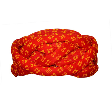 S H A H I T A J Traditional Rajasthani Cotton Adjustable Vantma or Barmeri Pagdi Safa or Turban Multi-Colored for Kids and Adults (RT19)-ST97_19