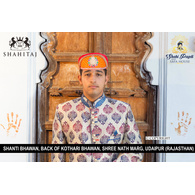 S H A H I T A J Traditional Rajasthani Cotton Mewadi Pagdi or Turban Multi-Colored for Kids and Adults (MT32)