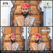 S H A H I T A J Traditional Rajasthani Cotton Mewadi Barati Pagdi or Turban Multi-Colored for Kids and Adults (MT39)-18-3-sm