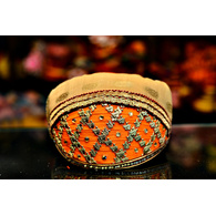 S H A H I T A J Traditional Rajasthani Cotton Mewadi Barati Pagdi or Turban Multi-Colored for Kids and Adults (MT52)