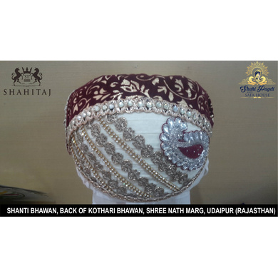 S H A H I T A J Traditional Rajasthani Cotton Mewadi Pagdi or Turban Multi-Colored for Kids and Adults (MT53)-ST131_21