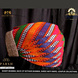 S H A H I T A J Traditional Rajasthani Cotton Mewadi Mothda Pagdi or Turban Multi-Colored for Kids and Adults (MT55)-18-4-sm