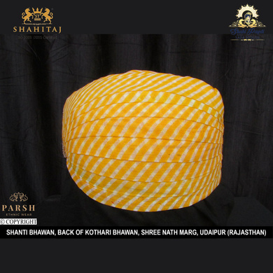 S H A H I T A J Traditional Rajasthani Cotton Mewadi Pagdi or Turban Multi-Colored for Kids and Adults (MT58)-ST137_22