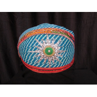 S H A H I T A J Traditional Rajasthani Cotton Mewadi Pagdi or Turban Multi-Colored for Kids and Adults (MT77)