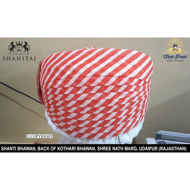 S H A H I T A J Traditional Rajasthani Cotton Mewadi Pagdi or Turban Multi-Colored for Kids and Adults (MT81)-ST159_22