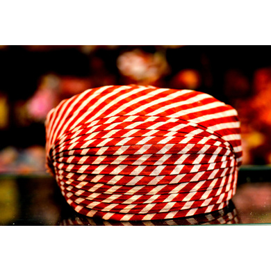 S H A H I T A J Traditional Rajasthani Cotton Mewadi Pagdi or Turban Multi-Colored for Kids and Adults (MT99)-ST177_19andHalf