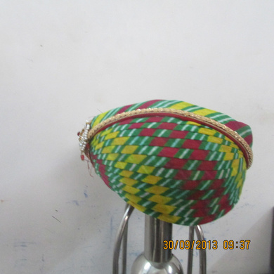 S H A H I T A J Traditional Rajasthani Cotton Mewadi Pagdi or Turban Multi-Colored for Kids and Adults (MT102)-ST180_20
