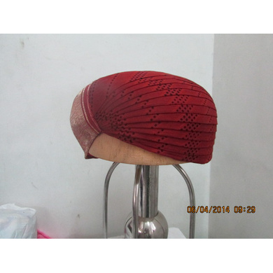 S H A H I T A J Traditional Rajasthani Cotton Mewadi Pagdi or Turban Multi-Colored for Kids and Adults (MT104)-18-3