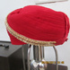 S H A H I T A J Traditional Rajasthani Red Kasumal Cotton Mewadi Pagdi or Turban for Kids and Adults (MT105)-18-4-sm
