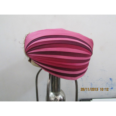 S H A H I T A J Traditional Rajasthani Cotton Mewadi Pagdi or Turban Multi-Colored for Kids and Adults (MT108)-ST186_20