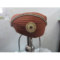 S H A H I T A J Traditional Rajasthani Cotton Mewadi Pagdi or Turban Multi-Colored for Kids and Adults (MT117)
