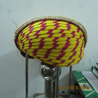 S H A H I T A J Traditional Rajasthani Cotton Mewadi Pagdi or Turban Multi-Colored for Kids and Adults (MT118)