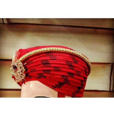 S H A H I T A J Traditional Rajasthani Cotton Mewadi Pagdi or Turban Multi-Colored for Kids and Adults (MT122)-ST200_18andHalf