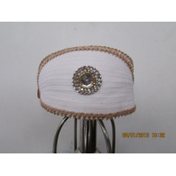 S H A H I T A J Traditional Rajasthani Cotton Mewadi Bohra Pagdi or Turban Multi-Colored for Kids and Adults (MT127)