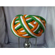 S H A H I T A J Traditional Rajasthani Faux Silk Tricolor or Tiranga Barmeri or Vantma Pagdi Safa or Turban Multi-Colored for Kids and Adults (RT137)-ST215_22-sm