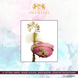S H A H I T A J Traditional Rajasthani Cotton Wedding Pagdi or Turban Multi-Colored for Groom or Dulha (MT146)-ST225_21andHalf-sm