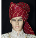 S H A H I T A J Traditional Rajasthani Wedding Barati Cotton Red Lehariya Pagdi Jodhpuri & Rajputi Safa or Turban for Kids and Adults (CT165)-ST245_20-sm